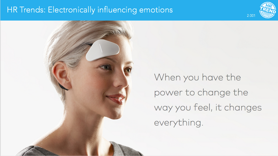 Thync electronically influencing emotions