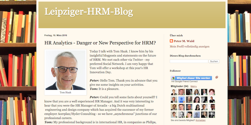 HR Analytics danger or new perspective
