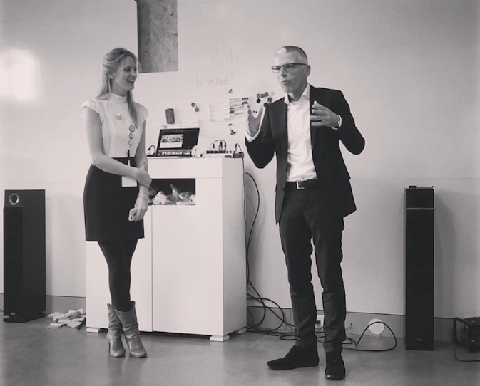 Sylke Raymakers and Tom Haak
