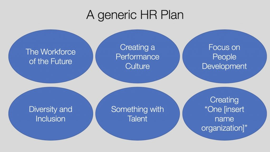 A generic HR Plan