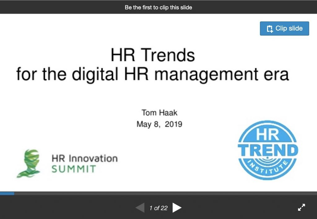 Slides Tom Haak on SlideShare